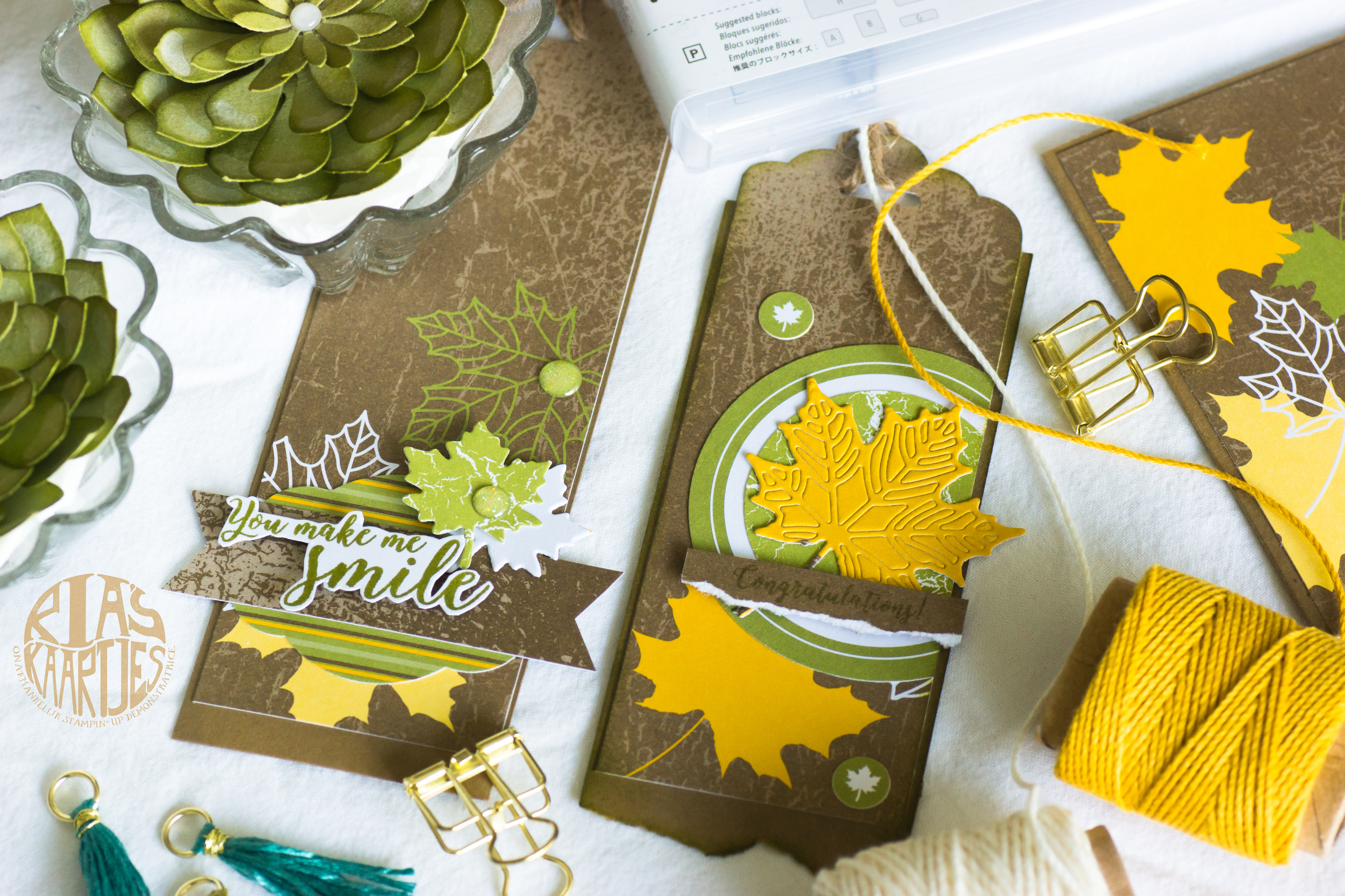 Tags Stampin' Up