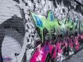 Bewerkte foto van Graffiti